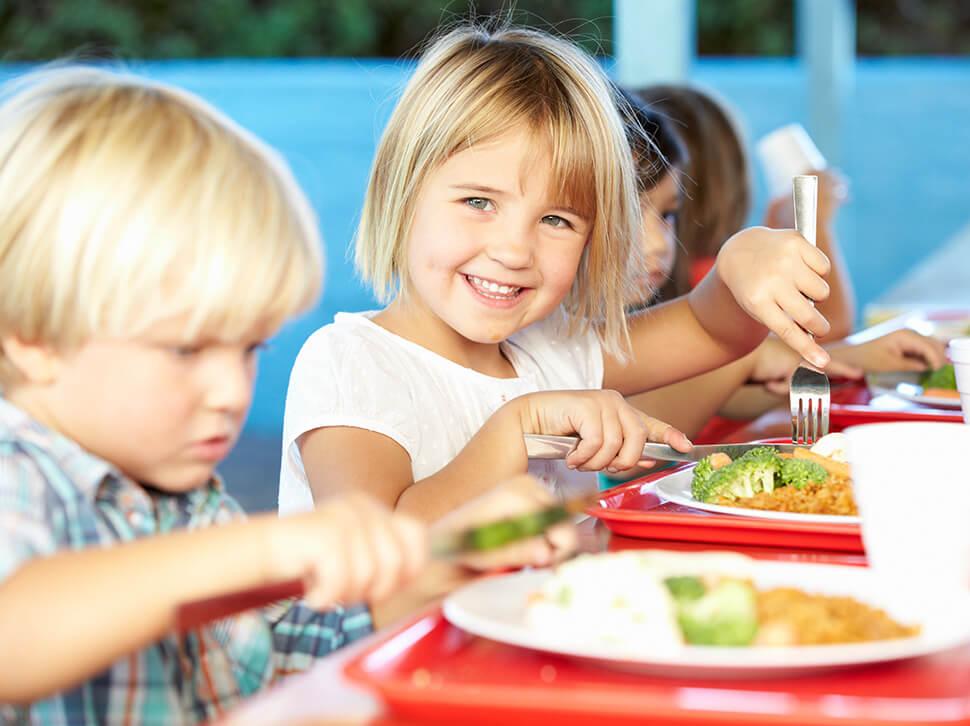 Kindergarten Mittagessen